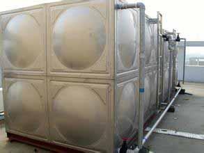 智能型箱泵一体化泵站水箱技术要求及参数 不锈钢焊接式常压水箱操作步骤
