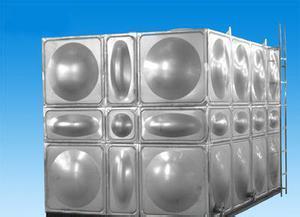 专业预制智能型箱泵一体化泵站组合式不锈钢水箱工艺 消防水箱外型美观