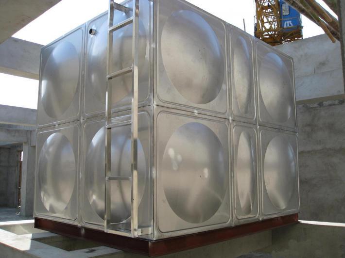 不锈钢组合水箱水箱腐蚀性介质 组合式不锈钢水箱专业生产