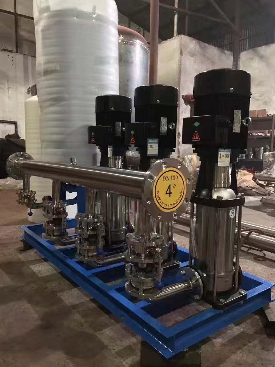 不锈钢水箱泵站