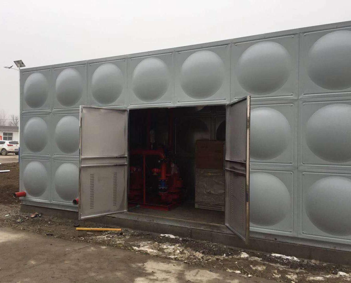 专业预制优质智能型箱泵一体化泵站汽车水箱性能 水箱说明