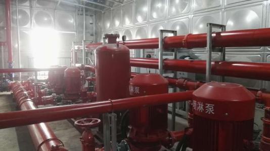 智能型箱泵一体化泵站装置