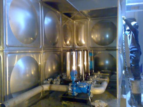 智能型箱泵一体化生活泵站