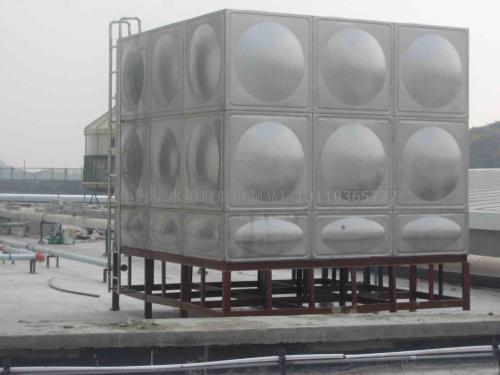 楼顶保温水箱