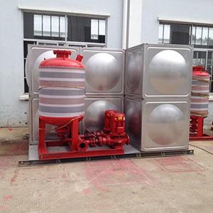 消防智能型箱泵一体化泵站