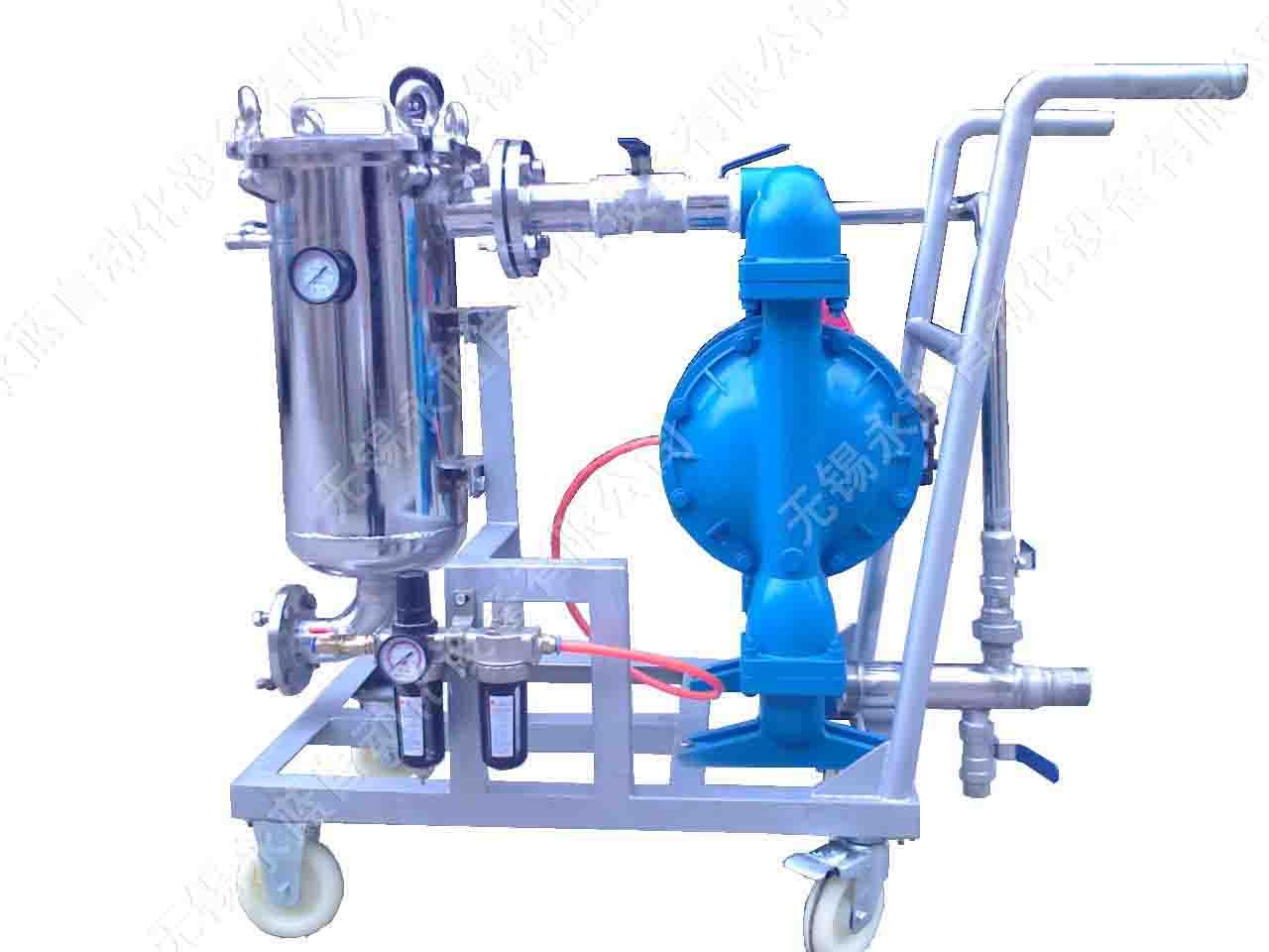 气动隔膜泵过滤器