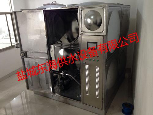 不锈钢水箱模具消防供应设备稳定可靠 箱泵一体供水设备作用