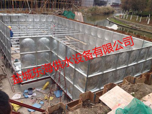 专业定制优质装配式水箱厂家HYH消防供水成套设备的特点 无负压给水设备适用范围