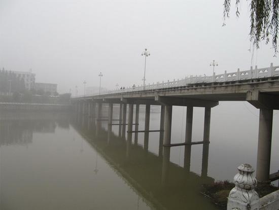 潢川潢河二桥实景