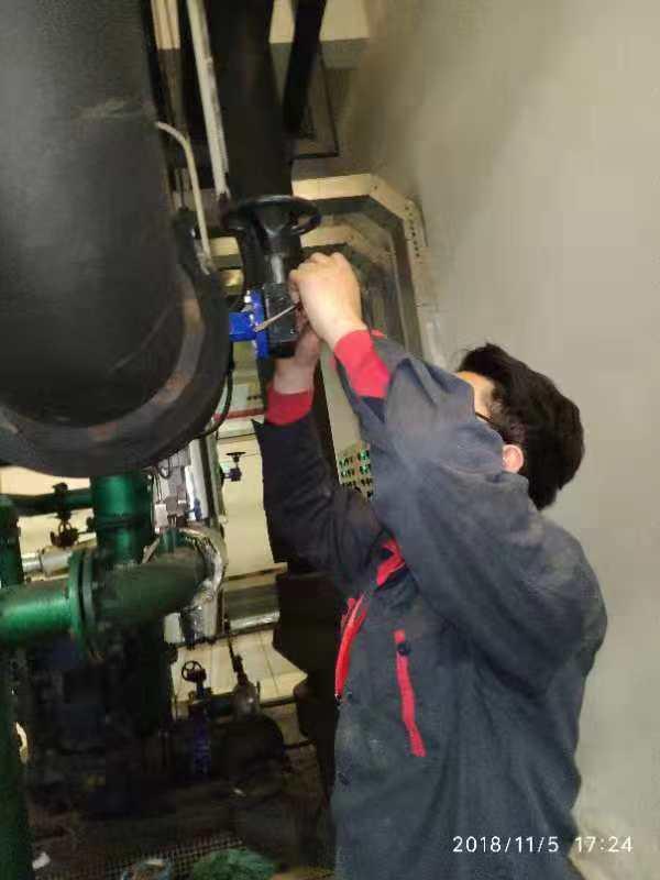 水系统阀门检修