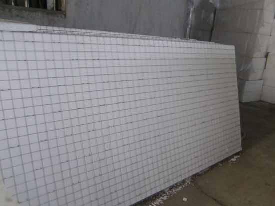 Zhengzhou steel mesh extruded plastic board