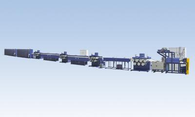 聚酯单丝机组