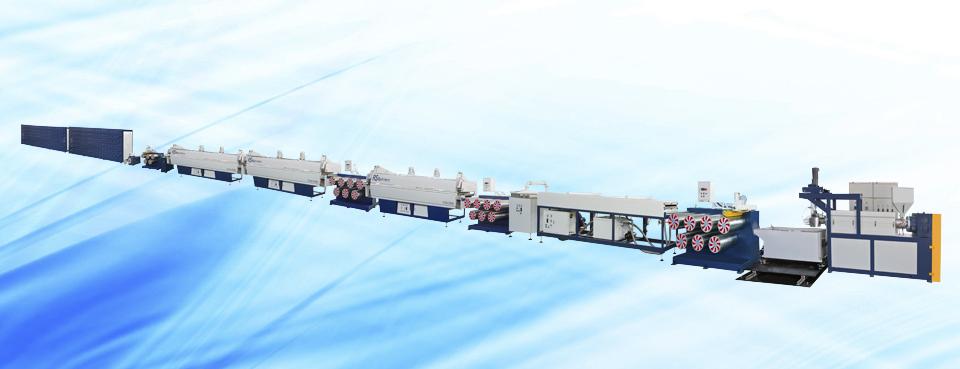 尼龙综丝单丝机组
