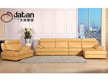 定制皮沙发