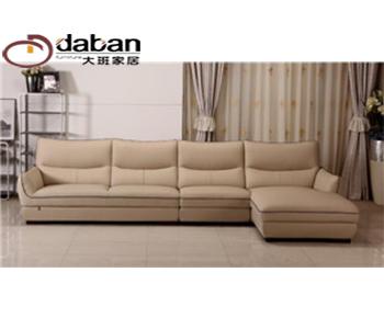 新中式皮沙发