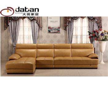 中式风格皮沙发