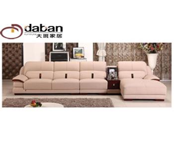 定制中式皮沙发