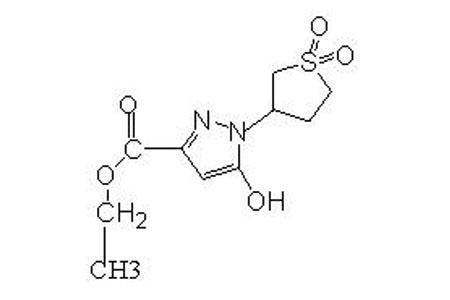 3-乙氧羰基-5-羟基-1-砜基吡唑 〔1-(Sulfoly-3-yl)-5-hydroxy-3-carbethoxy〕