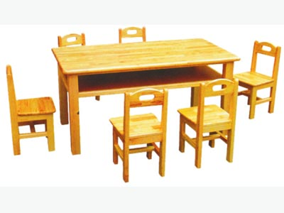 东莞幼儿园六人桌椅