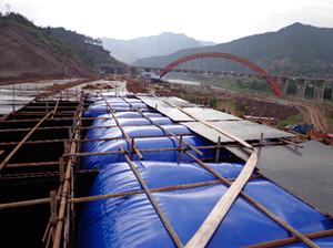 南京桥梁预压水囊品质保障|五大洲|桥梁预压水囊制造厂家