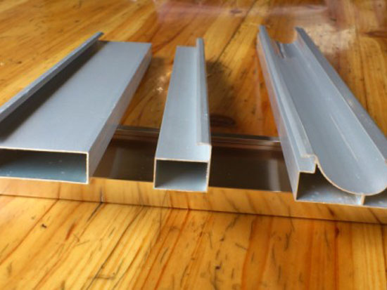 新乡电白4厘斜边铝材