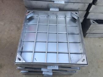 不锈钢井盖加强型