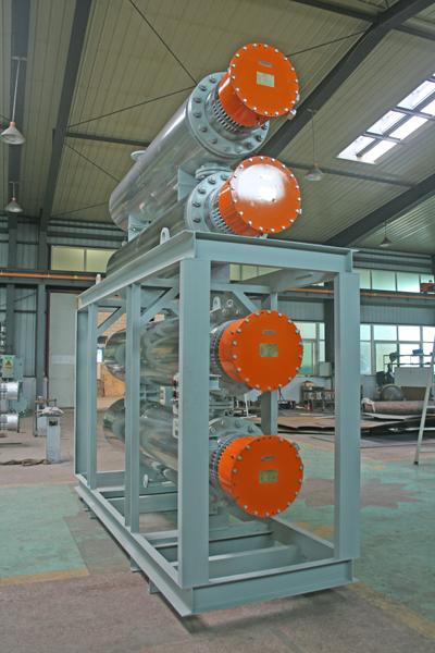2000KW导热油电加热器
