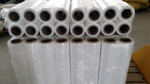 Package stretch wound film