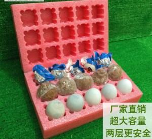 Foam egg holder