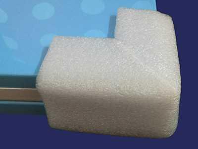Pearl cotton guard strip