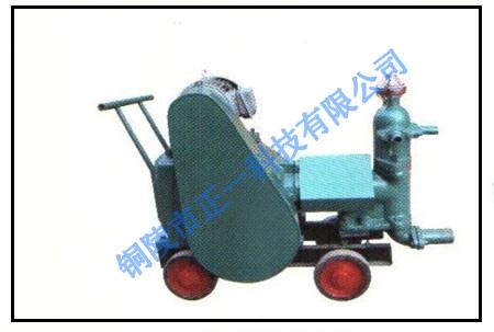 活塞式灰浆机