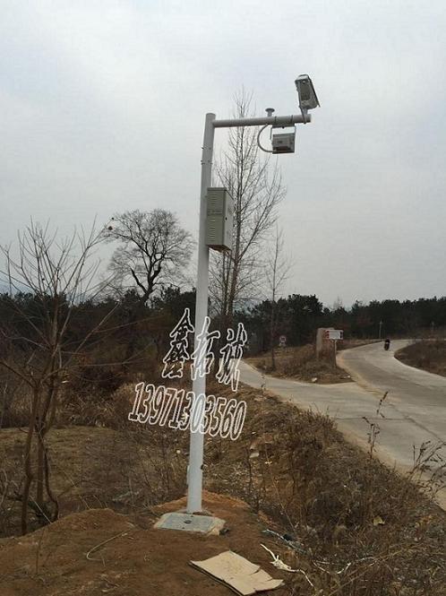 4米监控立杆