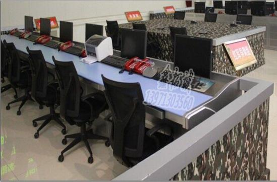 武汉六联平台式监控操作台
