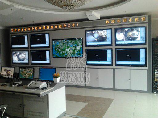 武汉监控门口机介绍日常监控 监控室的操作台正确处理介绍