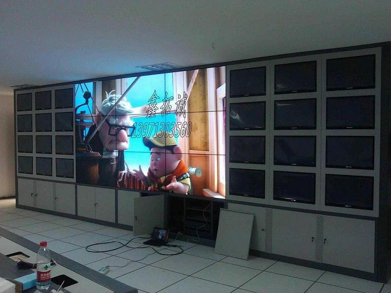 湖北监控电视墙