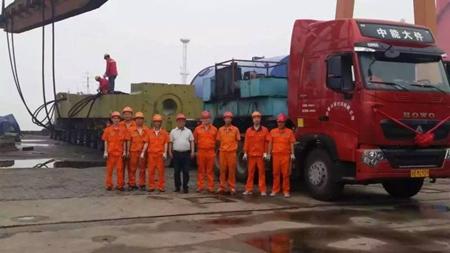重庆至无锡大件运输