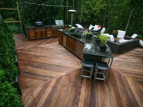 贵阳防腐木地板安装