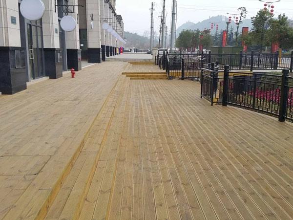 贵州户外防腐木地板