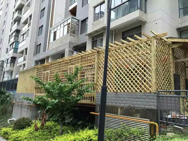 贵州防腐木花架安装