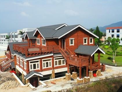 木结构别墅价格