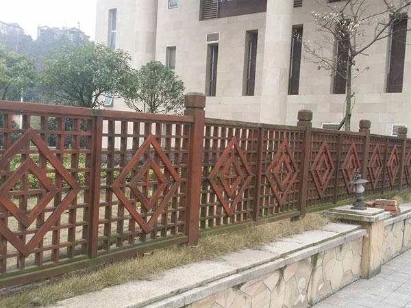 贵阳防腐木围栏