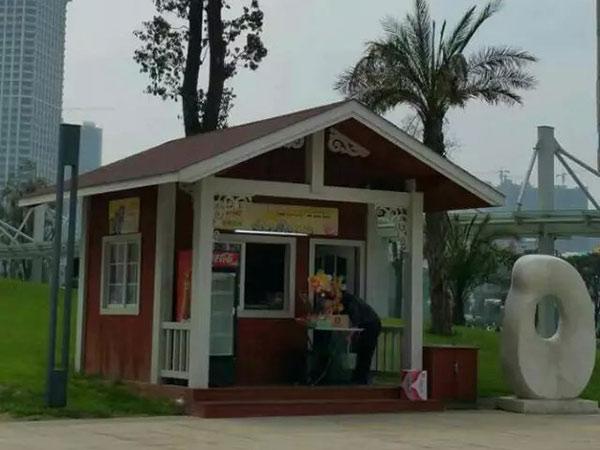 贵州木屋售货亭