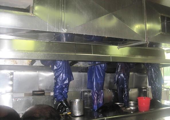 武汉厨房油烟管道清洗