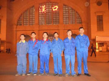汉口火车站中央空调安装案例