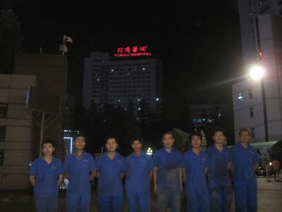 武汉医院中央空调清洗消毒案例