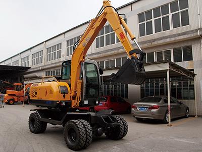 贵州轮式挖掘机厂家