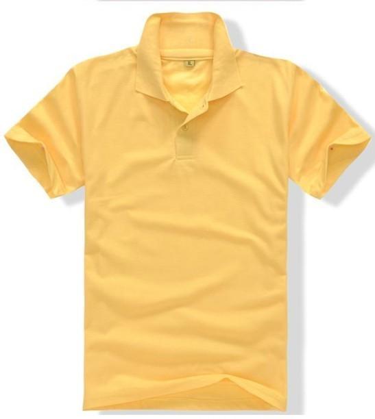纯棉翻领广告衫