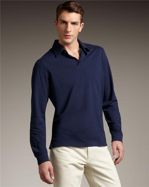 男士純色文化衫
