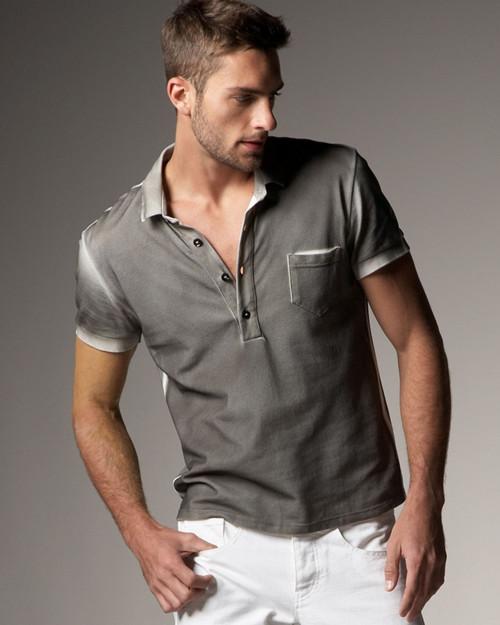 男士短袖polo衫