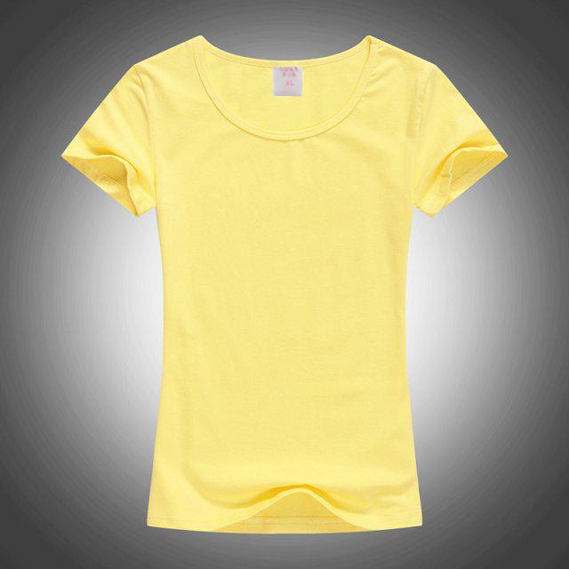女款圓領廣告衫